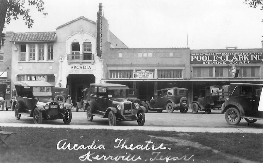 The Arcadia in the 1920s